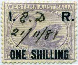 Western Australia Revenue Stamp Catalogue